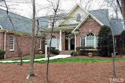 Durham County Single Family Home Contingent: 2 Shadow Creek Court