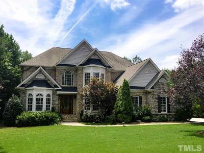 Colvard Farms Single Family Home For Sale: 106 Crimson Oak Drive