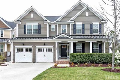 Cary Single Family Home Contingent: 817 Vandalia Drive
