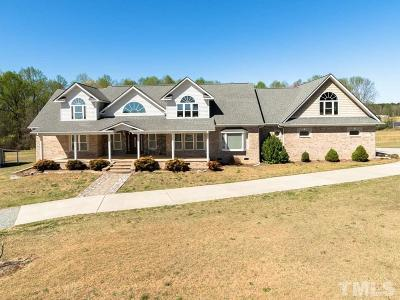 Harnett County Single Family Home Contingent: 592 McNeill Mill Road
