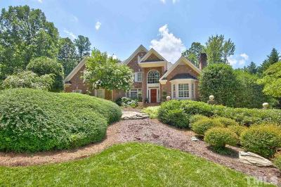Raleigh NC Single Family Home For Sale: $950,000