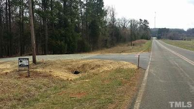 Mebane Residential Lots & Land Contingent: 3150 Firefly Court