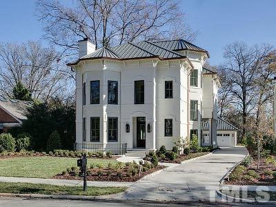 Raleigh Single Family Home For Sale: 1604 Jarvis Street