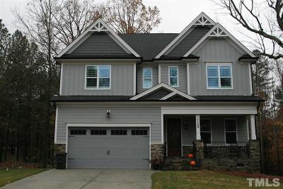 Raleigh Single Family Home Pending: 1124 Armsleigh Court