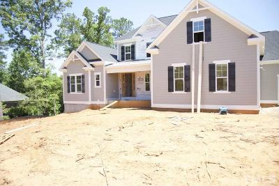 Holly Springs Single Family Home Contingent: 5101 Bartizan Drive