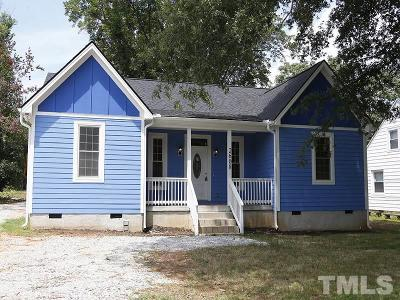 Raleigh Single Family Home For Sale: 2608 Garner Road