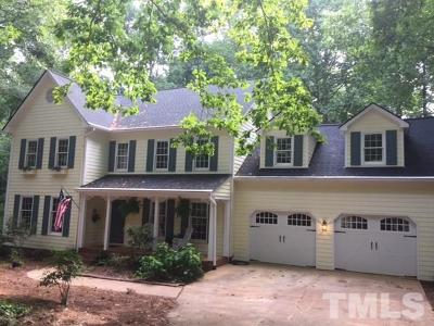 Raleigh Single Family Home For Sale: 5409 Huntingwood Drive