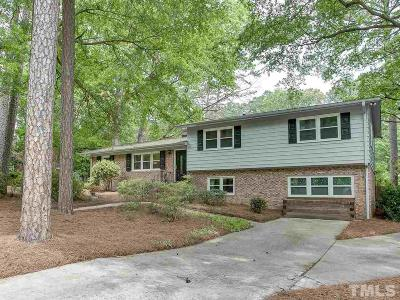 Raleigh Single Family Home Contingent: 5904 Deblyn Avenue