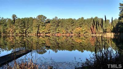 Chatham County Residential Lots & Land Pending: W Hardaway Trail