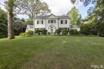 Raleigh Single Family Home For Sale: 3203 White Oak Road