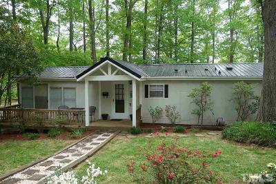 Single Family Home For Sale: 285 Kerr Lake Road