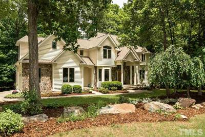 Chapel Hill Single Family Home For Sale: 1007 Wood Sage Drive