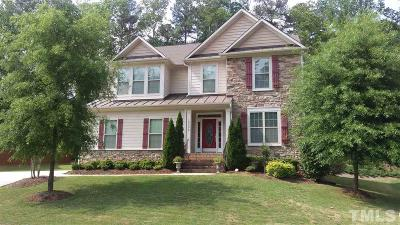 Raleigh Single Family Home For Sale: 12808 Edsel Drive
