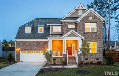 Cary Single Family Home For Sale: 228 Oakmere Drive #EYL Lot