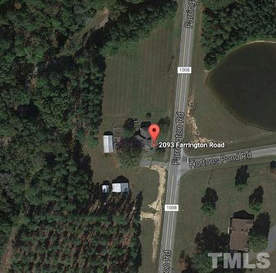 Chatham County Residential Lots & Land For Sale: 2093 Farrington Road
