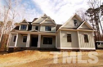 Holly Springs Single Family Home For Sale: 1005 Bass Lake Road
