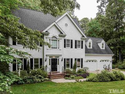Cary Single Family Home Contingent: 210 Kilbreck Drive