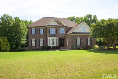 Holly Springs Single Family Home For Sale: 5409 Georgiana Ridge Drive