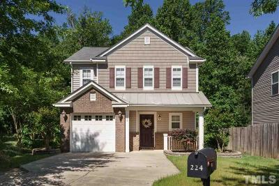 Holly Springs NC Single Family Home Sold: $197,500