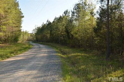 Chatham County Residential Lots & Land Contingent: River Forks Road