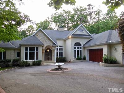 Wake County Single Family Home For Sale: 12325 Wingspread Way