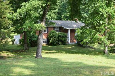 Raleigh Single Family Home For Sale: 5605 Paul Road