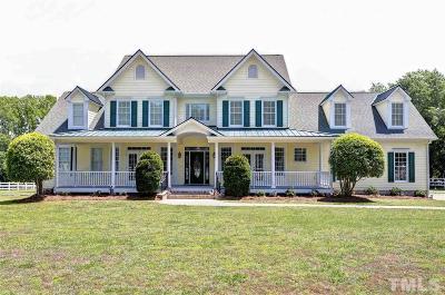Fuquay Varina Single Family Home For Sale: 10125 Lake Wheeler Road