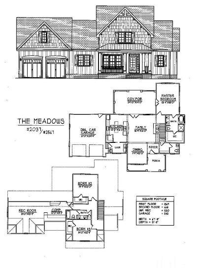 Benson Single Family Home For Sale: 120 E Stoneybrook Court