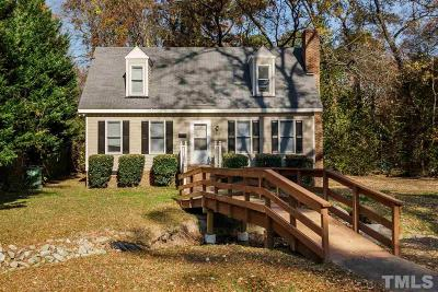 Cary Single Family Home For Sale: 319 E Park Street