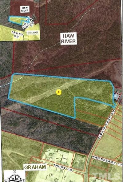 Alamance County Residential Lots & Land For Sale: Jimmie Kerr Road