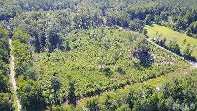 Chatham County Residential Lots & Land For Sale: Poythress Road