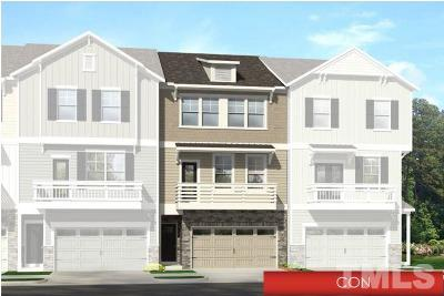 Apex Townhouse Pending: 1002 Diamond Dove Lane #Lot 105