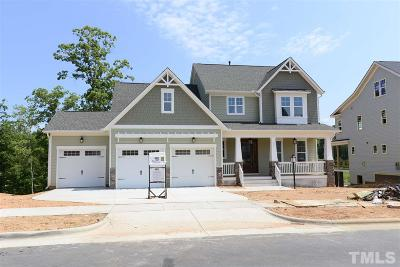 Holly Springs Single Family Home Pending: 605 Rambling Oaks Lane
