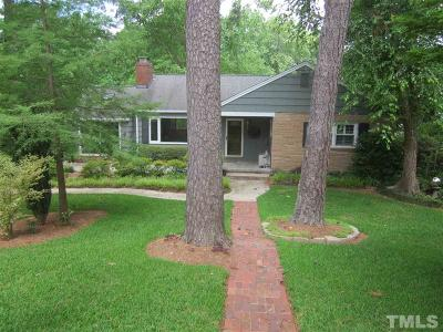 Raleigh Single Family Home For Sale: 1405 Hathaway Road