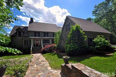 Siler City Single Family Home For Sale: 2196 Tom Stevens Road