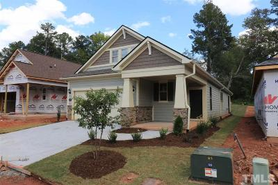 Durham Single Family Home For Sale: 1023 Santiago Street #Lot 256