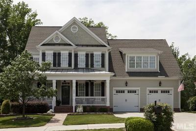 Cary Single Family Home For Sale: 5806 Highcroft Drive
