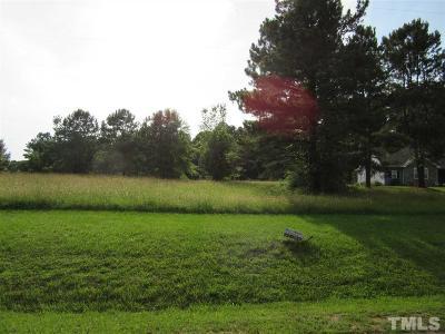 Zebulon Residential Lots & Land For Sale: 2505 Gray Hawk Trail