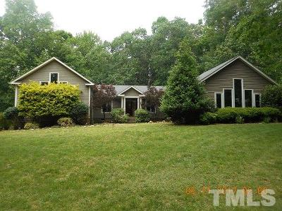 Chapel Hill Single Family Home For Sale: 65 David Miller Court