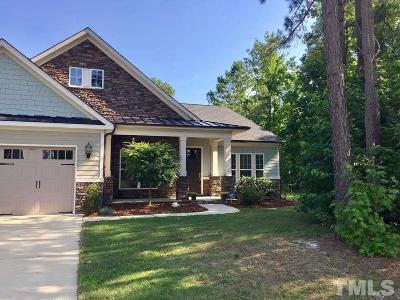 Harnett County Single Family Home Contingent: 46 Sherman Pines Drive