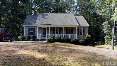 Clayton NC Single Family Home For Sale: $154,900
