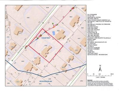 Wake County Residential Lots & Land For Sale: 3018 Randolph Drive