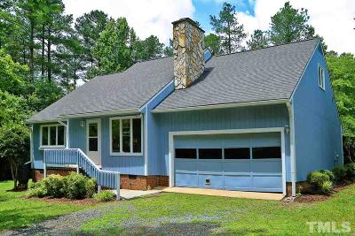 Siler City Single Family Home Contingent: 264 Wade Paschal Road