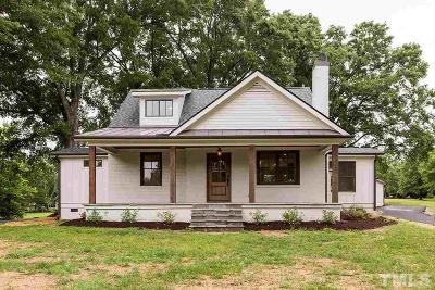 Durham Single Family Home For Sale: 4902 Erwin Road