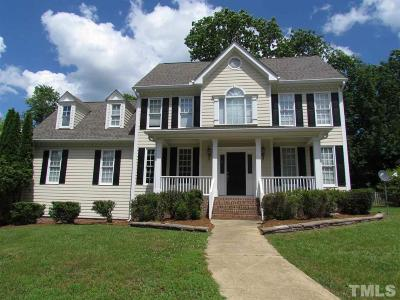 Holly Springs Single Family Home Contingent: 812 Sweetwood Court
