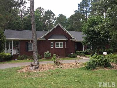 Johnston County Single Family Home Pending: 346 Blackmon Farms Lane