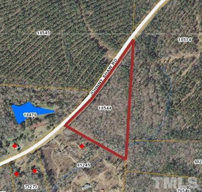 Moncure Residential Lots & Land Pending: Johnny Shaw Road