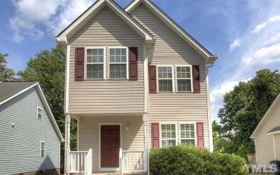 Holly Springs Single Family Home Contingent: 301 Cross Hill Lane