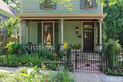 Raleigh Single Family Home For Sale: 519 N East Street