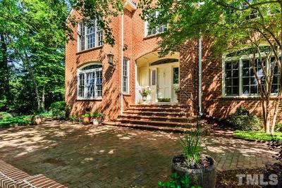 Chapel Hill Single Family Home For Sale: 1 St James Place